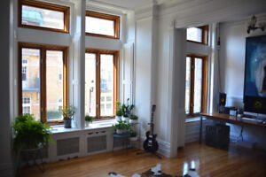 6 1/2 Historic apartment to share in the heart of The Plateau