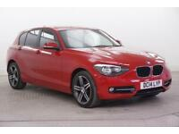 2014 BMW 1 Series 116D SPORT Diesel red Manual