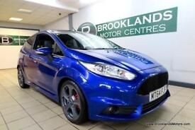 Ford Fiesta ST-3 1.6T EcoBoost 182 [3X SERVICES, SAT NAV, LEATHER RECAROS and HE