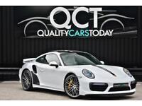 2016 '66' Porsche 911 ( 991 ) Turbo S Gen 2 *Metallic White + Aerokit +Burmester