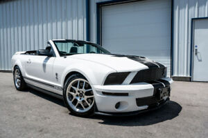 10,900km! 2008 Ford Shelby GT500 Convertible *Certified*