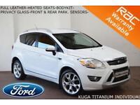 2011 Ford Kuga 2.0TDCi (163ps) 4x4 Titanium INDIVIDUAL-HEATED LTHER-PARK SENSORS