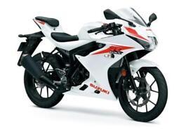 2018 SUZUKI GSX-R125 IN STOCK NOW AT GH MOTORCYCLES - 3% APR FINANCE £33 DEPOSIT