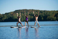 Spring & Summer Stand Up Paddle and Yoga!