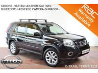 SEPT 10 Nissan X-Trail DCI-HEATED LEATHER-SUNROOF-B.TOOTH-CAMERA-F.S.H.