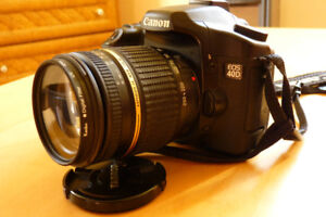 Canon 40D with Tamron 18-250mm lens