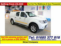 2007 - 07 - NISSAN NAVARA TEKNA 2.5 DCI 4X4 DOUBLE CAB PICK UP C/W SNUG TOP