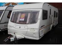 Avondale Argente 650 2004 4 Berth Caravan £4400 Fixed Bed Conversion