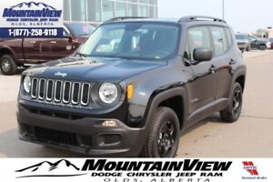 2017 Jeep Renegade Sport  -  Power Windows -  Power Doors