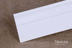 Primed Baseboards Colonial Style - Trim and Moulding Manufacture