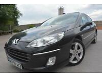 PEUGEOT 407 SE 1.6 HDI DIESEL*LOW MILEAGE*2 OWNERS*AIR CON*ALLOYS*CHEAP DIESEL*