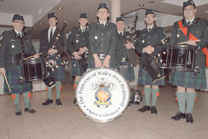 Bagpipers / Drummers Kingston Kingston Area image 3