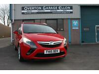2015 Vauxhall Zafira Tourer ZAFIRA TOURER 2.0 CDTI SRI 130ps Diesel red Manual