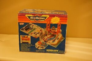 Micro Machines Tool Box City-Very Good Condition, vintage toy