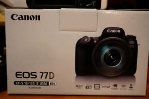 Canon 77D plus lenses and extras!!