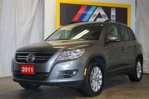 2011 Volkswagen Tiguan 4 MOTION LEATHER SUNROOF ONLY 70KMS!!