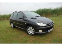 2005 Peugeot 206 SW 1.4 HDi S 5dr (a/c)