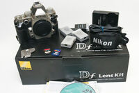 Nikon Df DSLR silver camera body w/extras