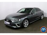 2020 Audi A4 30 TDI S Line 4dr S Tronic Auto Saloon Diesel Automatic