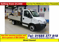 2008 - 08 - IVECO 35C15 DAILY 2.3HPI SINGLE CAB DROPSIDE (GUIDE PRICE)