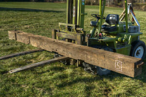 Antique Hand-Hewn Barn Beam 14.5 ft London Ontario image 1