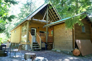Perfect Cabin in Sunshine Valley near Manning Park - H72