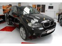 2012 BMW X5 3.0TD auto xDrive30d M Sport 7 Seater in Black