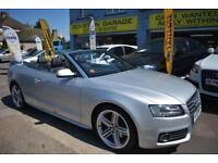 BAD CREDIT CAR FINANCE AVAILABLE 2010 10 AUDI A5 2.0TDi S LINE CONVERTIBLE
