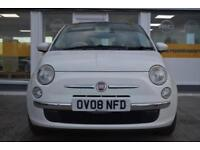 BAD CREDIT CAR FINANCE AVAILABLE 2008 08 FIAT 500 1.2 LOUNGE