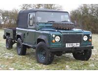 Land Rover Defender 90 2.5D Ex MOD Soft Top + Sankey Trailer