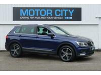 2017 Volkswagen Tiguan SE TDI BLUEMOTION TECHNOLOGY DSG Auto Estate Diesel Autom
