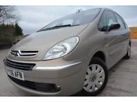 CITROEN XSARA PICASSO EXCLUSIVE 1.6 HDI DIESEL*FULL SERVICE HISTORY*2 LADY OWNER