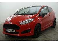 2015 Ford Fiesta ZETEC S RED EDITION Petrol red Manual