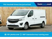 2018 Vauxhall Vivaro 1.6Cdti 120ps(EU6) 2.9T L2 H1 Sportive A/c Bluetooth Rear P