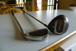 Junior 5 iron and driver