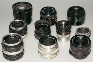WANTED: Old camera lenses and bodies