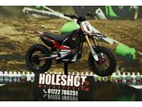 OSET MX-10 Electric Motocross bike Finance available 2018