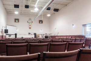 Church Space to Rent - Afternoon Service