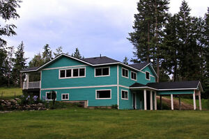 Creston BC house and acreage  a great investment!