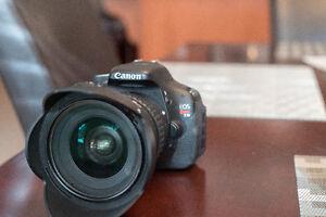 Canon T3i/Kit Lens + 3 batteries