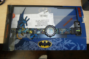 Watch / Montre Swatch Flik Flak Batman