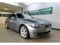BMW 5 SERIES 520d SE [4X SERVICES, SAT NAV, LEATHER and HEATED SEATS]