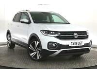2019 Volkswagen T-Cross 1.0 TSI SEL (s/s) 5dr SUV Petrol Manual