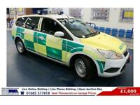 2010 - 10 - FORD FOCUS STYLE 1.8TDCI 115PS RESPONSE 5 DOOR ESTATE (GUIDE PRICE)