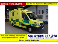 2008 MERCEDES SPRINTER 515 2.2CDI AUTO WAS BODY AMBULANCE / CAMPER (GUIDE PRICE)