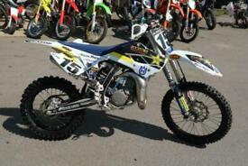 HUSQVARNA TC 85 2017 MOTOCROSS BIKE PART EXCHANGE TO CLEAR