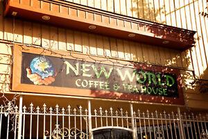 Restaurant, coffee & tea shop for sale w/ building