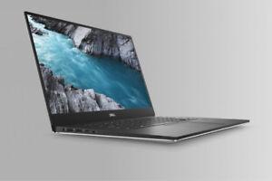 "Dell XPS 15"" 4K UHD windows 10 Pro 8th gen i7,/32gb/1TB"