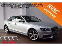 2010 Audi A4 2.0TDI 143BHP SE AUTOMATIC -FULL SERVICE HISTORY-PARKING SENSORS-
