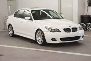 2008 BMW 550I M-SPORT 80,000 KMS NO CLAIMS LOCAL BC